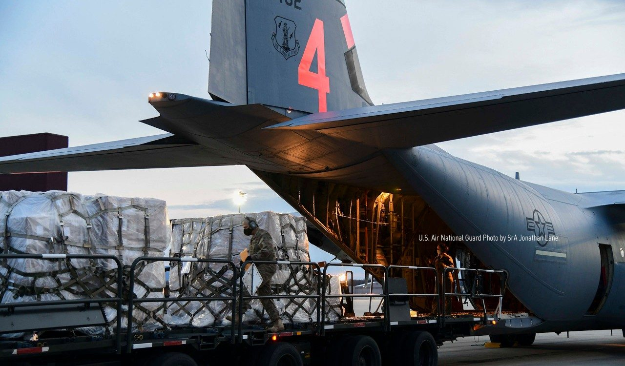 Lockheed Martin Aircraft Support Global COVID-19 Relief Efforts